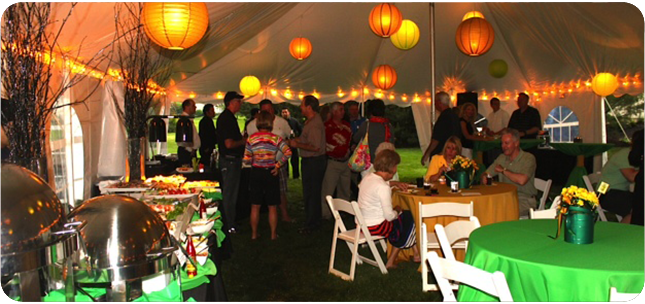 abbott party rental il  chicago party rental  wedding tent  table  chair rentals  party rentals