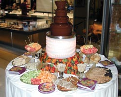 Chocolate Fountain Rental - Abbott Party Rental